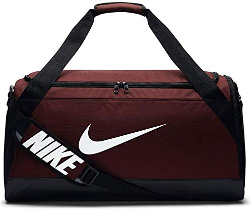 Nike NK bRSLA m Duff Sac Unisexe Adulte, Rojo- (Dark Team Red/Black/White), Unique BA5334-622