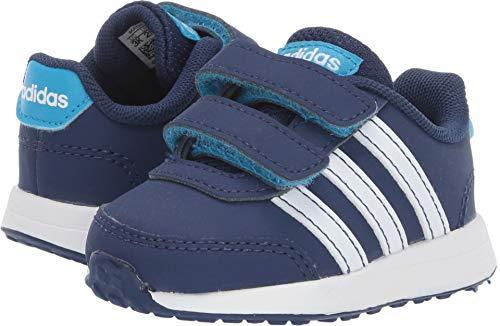 60d38687b adidas Kids Unisex VS Switch 2 CMF (Infant Toddler) Dark Blue Footwear  White Shock Cyan 6.5 M US Toddler