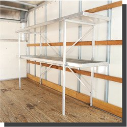 PRFect Shelving Solutions - Portable, Removable, Fold-away Shelves 4' x 22