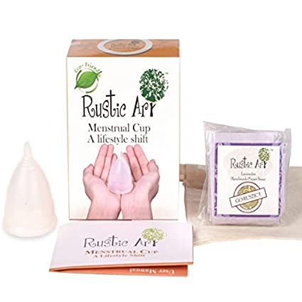 044f3cf93 Buy Rustic Art Menstrual Cup (Large) Online at Low Prices in India -  Amazon.in