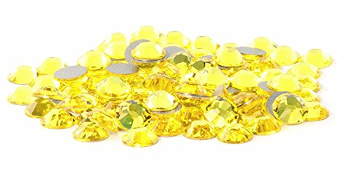 SS20 Swarovski Rhinestones - Citrine (1 Gross = 144 pieces)