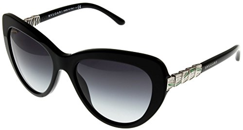 Bvlgari Sunglasses Womens Black Butterfly BV8143B 501/8G by Bulgari