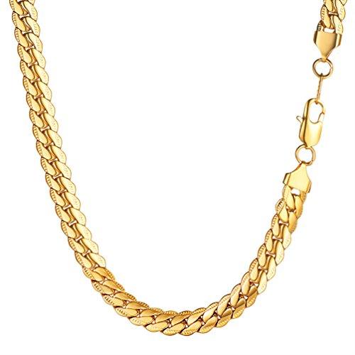 vintage gold chain - 3