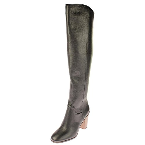 Franco Sarto Womens Faye Boot Black Leather 03PZm