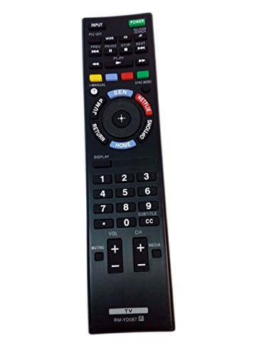 RM-YD087 1-491-987-11 Remote Control Replaced for Sony KD...