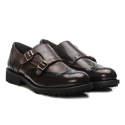 Girardi Marrón marrón mujer Zapatos para cordones marrón de IXxYX1Sn