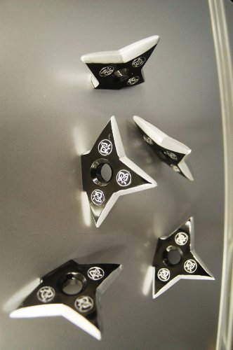 Ninja Pro Throwing Star/Shuriken magnet- 5 piezas.: Amazon ...
