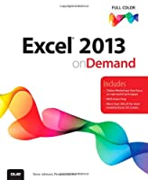 Excel 2013 On Demand Front Cover