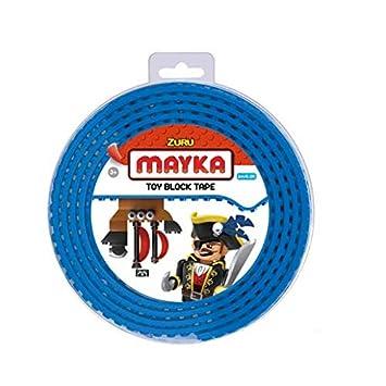 Schwarz 4 Pins Mayka Tape Zuru Spielbaustein-Klebeband selbstklebend
