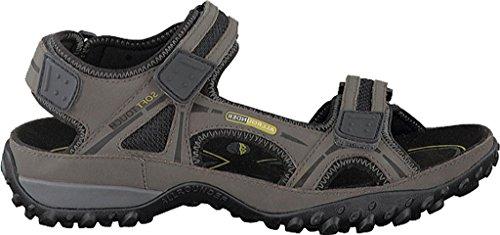 Allrounder by Mephisto Mens Regent Active Sandal Anthracite Tech Nubuck rydCc