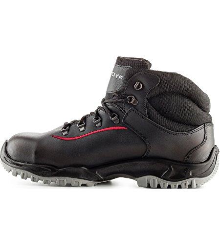 Noires Sécurité Montantes Oversize de Chaussures S3 MODYF w67B0146