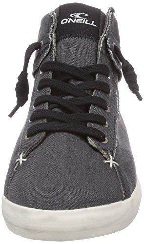 O'NEILL Babelini2 canvas - zapatillas deportivas altas de lona mujer negro - Schwarz (Pirate Black (9009))