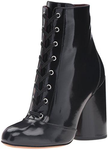 Marc Jacobs Women's Tori Lace up Mid Boot, Black, 38.5 EU/8.5 M US