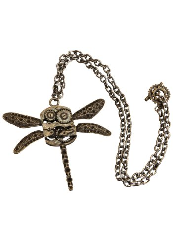 elope Antique Dragonfly Necklace