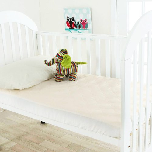 Latex Mattress Topper For Toddler And Crib Bed With