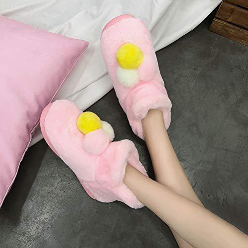 Caviglia Neve Da Donne Dimensioni Basse Moda Le Più Peluche Sintetica Per Alla Donna Stivaletti Palla Piattaforma In Caldo Pink Pelliccia Inverno Scarpe Casual qOx5d1O