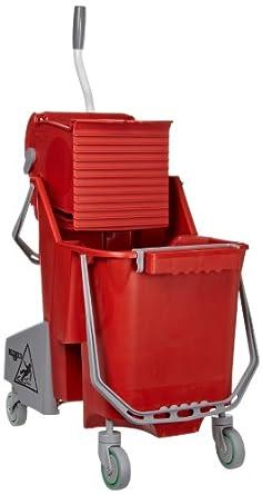 Unger COMBR 30 Liter Red Combo Restroom Bucket