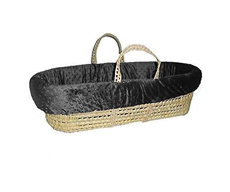 BabyDoll Heavenly Soft Moses Basket Set, Camel 8000mb