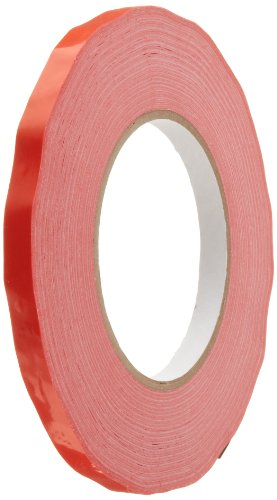 Aviditi T96202416PKR Pressure Sensitive Bag Tape, 2.4 mil Thick, 180 yds Length x 3/8