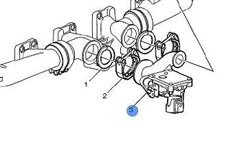 amazon com volvo truck egr valve d12 reman 85000908 automotive volvo truck egr valve d12 reman 85000908