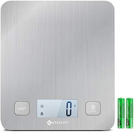 Etekcity Multifunction Platform Batteries Stainless product image