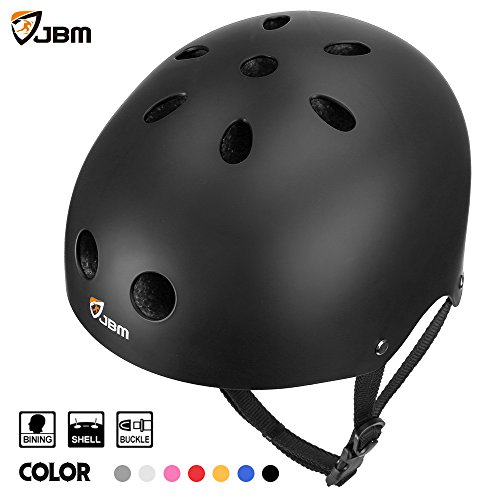 Lowest Prices! JBM Helmet for Multi-sports Bike Cycling, Skateboarding, Scooter, BMX Biking, Two Whe...