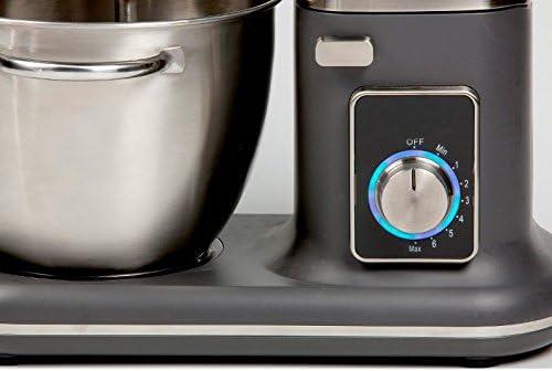 Robot de cocina 4,5 litros, 1000 W de potencia, amasadora ...