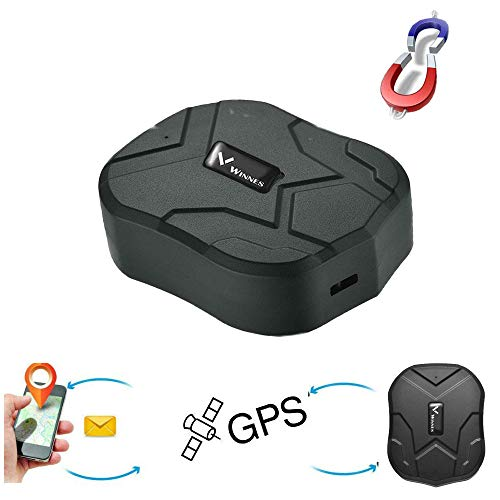 GPS Tracker, 3G Network Strong Magnetic GPS Tracking Device 10,000mAh Big Rechargeable Battery Car Tracker with Online…