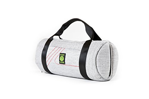 Padded Pipe - 17 in Padded Duffle Tube | Discreet, Padded Case for Pipes/Pieces (Silver)