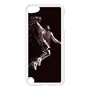 iPod Touch 5 Case White Lebron James Dunk R1M5IT