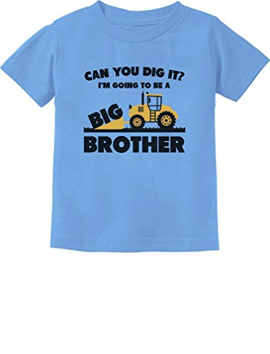 - Going to Be A Big Brother Gift Tractor Loving Boys Toddler/Infant Kids T-Shirt 5/6 California Blue