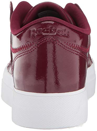 Workout Sneaker wh Plus Ankle Women's Fashion Wine Suede rustic high Shny Reebok Lo Leather Aw8TqO5