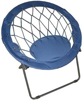 Zenithen IC504S BUN3 TV1 Bungee Chair, Blue