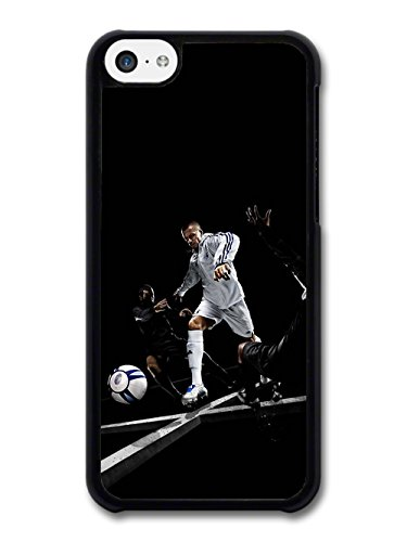 David Beckham Playing White Football Player coque pour iPhone 5C