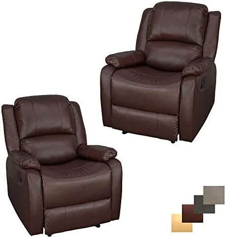 Set of 2 RecPro Charles Collection 30 Zero Wall RV Recliner Wall Hugger Recliner RV Living Room Slideout Chair RV Furniture RV Chair Mahogany
