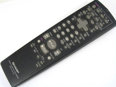 Price comparison product image Sharp VCA410U VCH810U G1236AJSA Remote Control