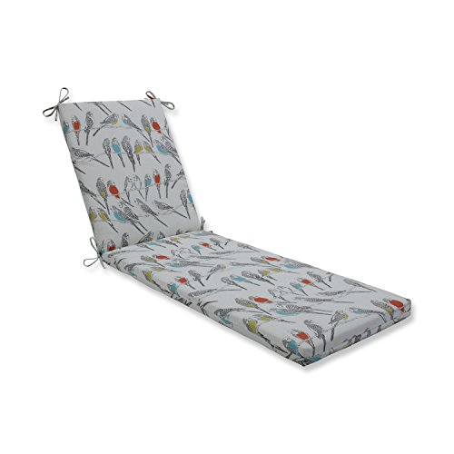 - Pillow Perfect Outdoor/Indoor Retweet Mango Chaise Lounge Cushion 80x23x3