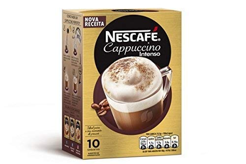 Nescafé - Cappuccino - Café Soluble Natural 10 Sobres 140 g: Amazon.es: Alimentación y bebidas