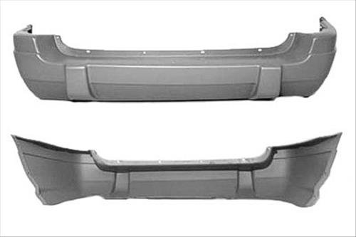 OE Replacement Jeep Cherokee/Wagoneer Rear Bumper Cover (Partslink Number CH1100204)