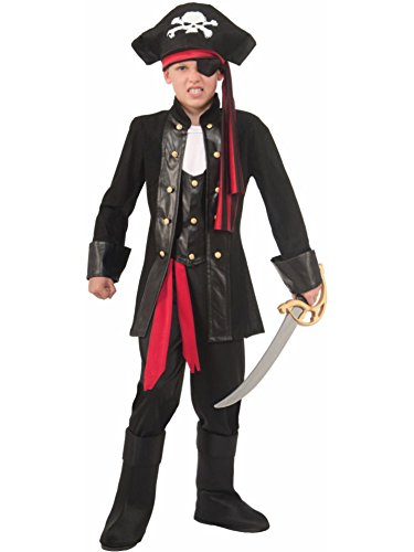 [Forum Novelties Seven Seas Pirate Costume, Large] (Pirates Kids Costumes)