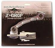 Large HPA Psychoballistics Z Drop Forward Paintball Gun Bottomline Tank Bottle Cradle 114 88 ci cu Silver