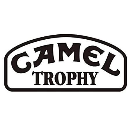 CAMEL TROPHY Fun Waterproof Stickers Car Motorcycle Reflective Sticker Decal Car Accessories Car Body Stickers For Laptop Car Sticker 15 cm