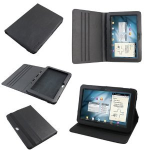 (Belkin F8M168 Verve Leather Folio Stand Case for Samsung Galaxy Tab 8.9 LTE - Black [Retail Packaging])