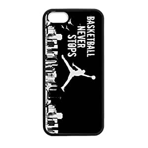 DIY Design Cute Basketball Jumping Man Background-Protective TPU Cover Case for iphone 4/4s/ (Laser Technology)case Perfect as Christmas gift03