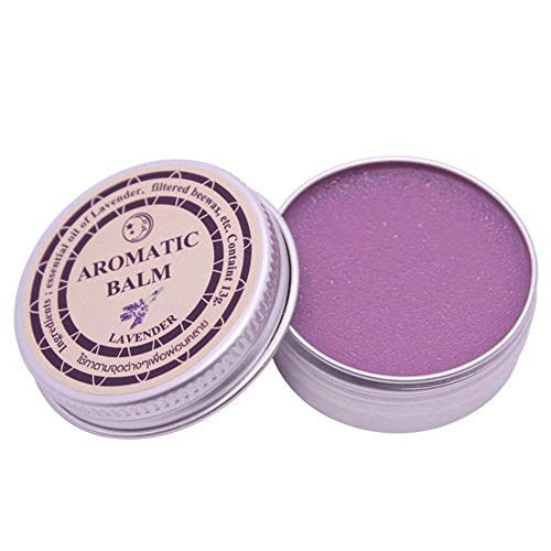 Aromatic Essential Lavender Balm Improve Sleep Relax the Nerve Sleep Night Cream Sleep Relieve Mood And Improve Sleep Aromatic Great in Lavender,Cream Balm Essential Oil Insomnia Headache(13g)