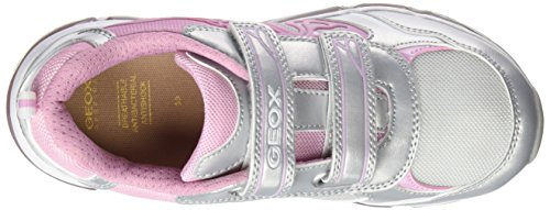BR Girls' Pink 8 24 GEOX Androidgirl Silver US Sneaker 10 Toddler M JR CxUdB8US