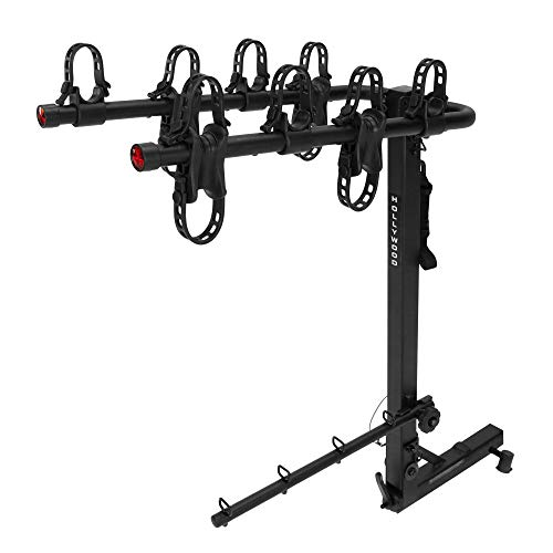 Hollywood Racks HR400 Road Runner 4-Bike Hitch Mount Rack (2-Inch Receiver) ()