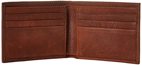 Fold Wallet Bahama Bi Slimfold Tommy Leather One Men's 2Tone Size Tan d0xpqfYg