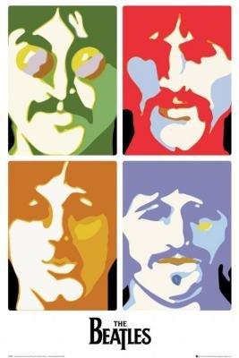 The Beatles   Sea Of Science   4 Pics Pop Art 24X36 Poster