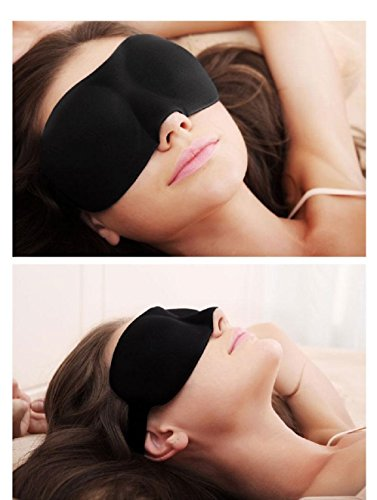 Travel Sleep Eye Mask 3D Soft 100% Cotton Travel Accessories Eye Masks